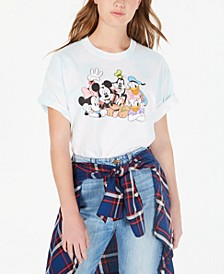 Plus Size Mickey Mouse And Friends Graphic Print T-Shirt