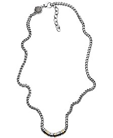 Diesel Men's Stainless Steel Chain Necklace