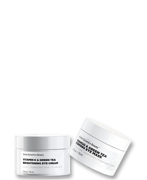 Herbal Dynamics Beauty Vivid Revival Brightening Eye Mask and Eye Cream Duo