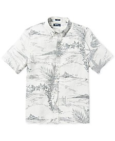 Reyn Spooner Men's Indoscene Printed Shirt
