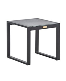 Tommy Hilfiger Hampton Outdoor Side Table, Quick Ship
