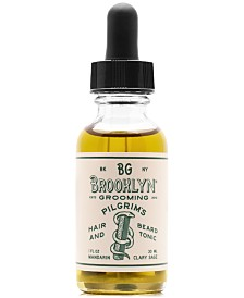 Brooklyn Grooming Pilgrim's Hair & Beard Tonic, 1-oz.