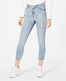 STS Blue Brie High-Rise Cropped Skinny Jeans