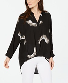 Alfani Printed Tunic, Created For Macy's