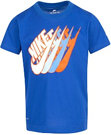 Nike Little Boys Futura Repeat Logo T-Shirt