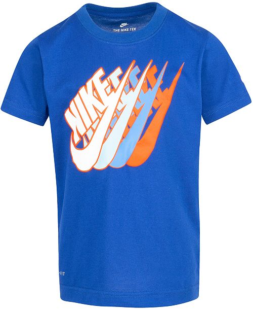 Nike Toddler Boys Futura Repeat Logo T-Shirt