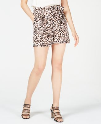 Leopard-Print Shorts, Created for Macy's