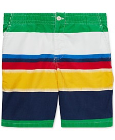 Polo Ralph Lauren Big Boys Straight-Fit Polo Prepster Cotton Shorts
