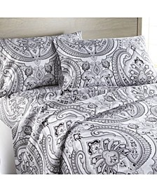 Pure Melody Classic Paisley Sheet Set, Twin