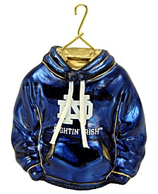 University of Notre Dame Collegiate Hoodie Ornament