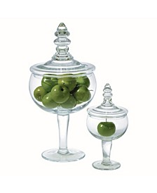 Glass Apothecary Jar Small