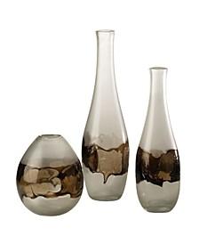 Molten Glass Bottle Large