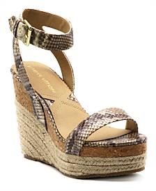 Adrienne Vittadini Cari Platform Wedge Sandal