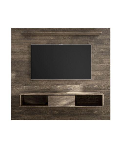 "Amazonia Mid-Century 2-Shelf 71"" Wood TV Stand"