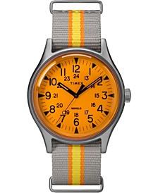 Timex Mk1 Aluminum California 40mm Fabric Strap Watch