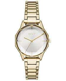 Women's Cityspire Gold-Tone Stainless Steel Bracelet Watch 34mm