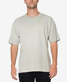 Men's Cotton Logo Drop-Shoulder T-Shirt