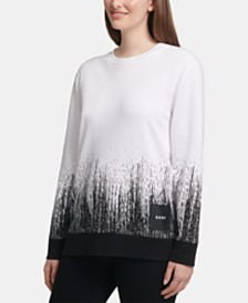 DKNY Ombré Everywhere Sweatshirt