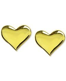 Giani Bernini Polished Heart Stud Earrings, Created for Macy's