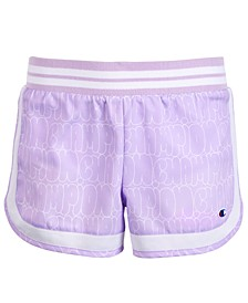 Big Girls Bubble Logo Shorts