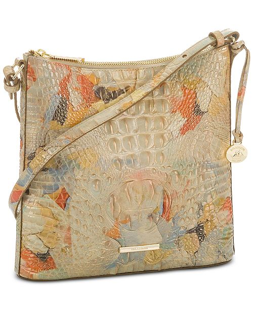 Brahmin Katie Melbourne Embossed Leather Crossbody