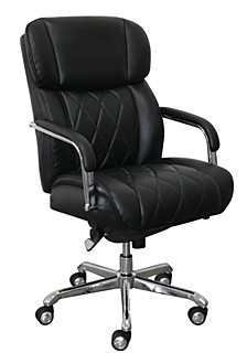Sutherland Quilted Leather Office Chair