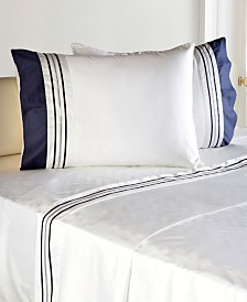 Enchante Home Belmont 4 pieces Turkish Cotton Sateen Queen Sheet Set