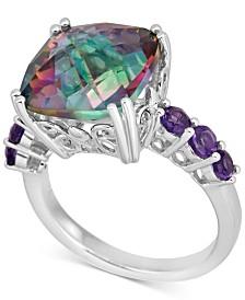 Mystic Quartz Ring (6 ct. t.w.) in Sterling Silver