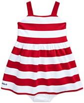 40920fba59774 Polo Ralph Lauren Baby Girls Striped Dress
