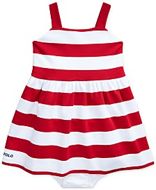 Polo Ralph Lauren Baby Girls Striped Dress