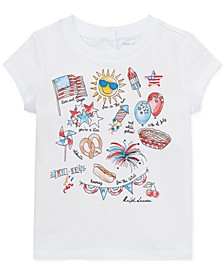 Baby Girls Graphic Cotton T-Shirt