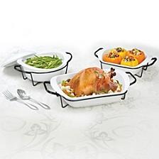 7-Pc. Porcelain Bakeware Set