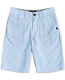 Quiksilver Big Boys Union Heather Amphibian Shorts