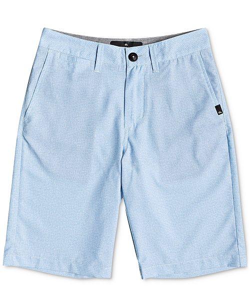Quiksilver Big Boys Union Heather Amphibian Shorts
