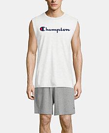 Champion Men's Logo Sleeveless T-Shirt