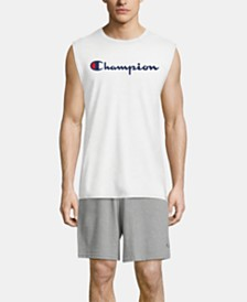 Champion Men's Logo Sleeveless T-Shirt