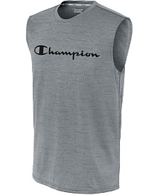 Champion Men's Double Dry Sleeveless T-Shirt