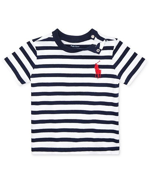 Baby Boys Boys Striped Baby T Shirt Striped T EYWHIe29D