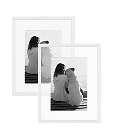 Gallery Float Glass Picture Frame, Set of 2