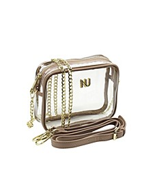 Taylor Cross Body Clear Purse
