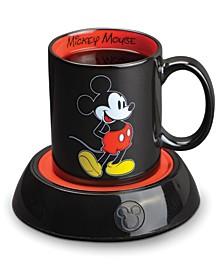 Mickey Mouse Mug Warmer with 10 Ounce Mug