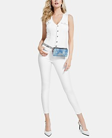 GUESS Layla Denim Jumpsuit