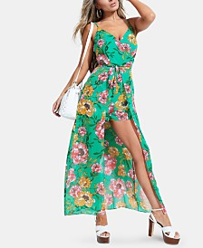 GUESS Brailyn Printed Walk-Through Romper