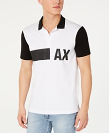 A|X Armani Exchange Men's Colorblocked Polo