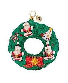 Christopher Radko Memories of Christmas Wreath