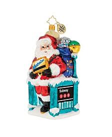 MTA Santa's NY Travels!