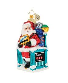 Christopher Radko MTA Santa's NY Travels!