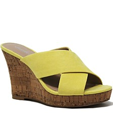 CHARLES by Charles David Latrice Platform Wedge Sandals