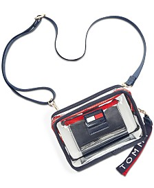 Tommy Hilfiger Kala Clear Convertible Belt Bag