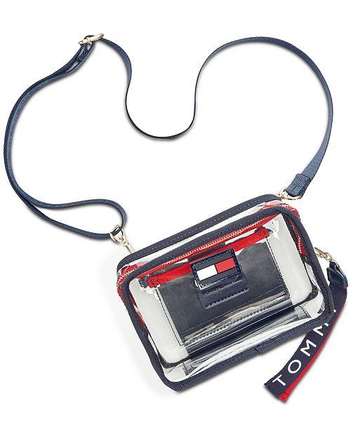 Tommy Hilfiger Kala Clear Convertible Belt Bag
